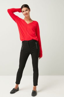 Next Dot Skinny Trousers