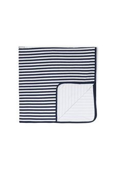 Pumpkin Patch Stripe Organic Cotton Blanket