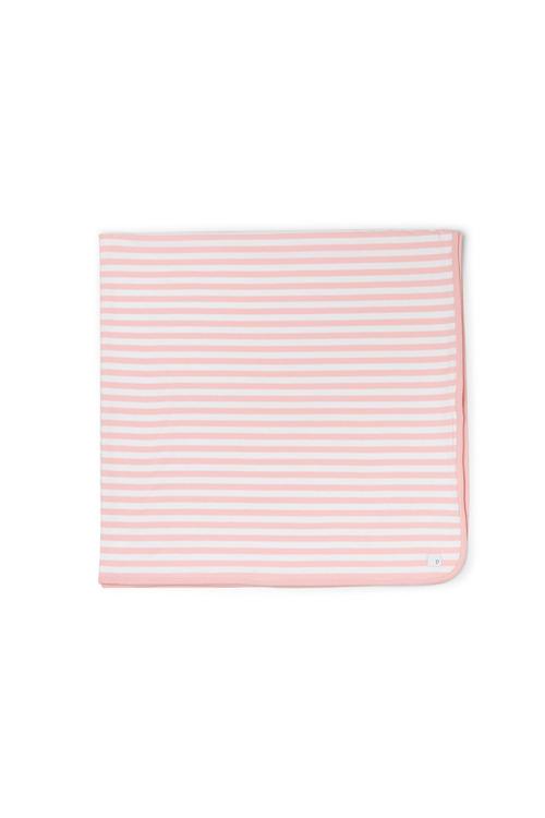 Pumpkin Patch Stripe Organic Cotton Blanket