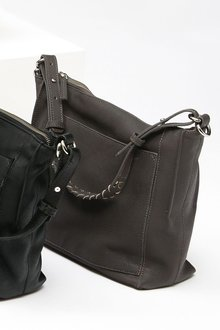 Next Leather Messenger Bag