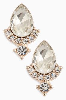 Next Jewelled Stud Earrings