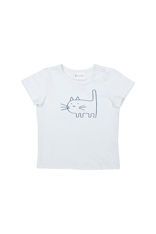 Pumpkin Patch Cat Print Tee