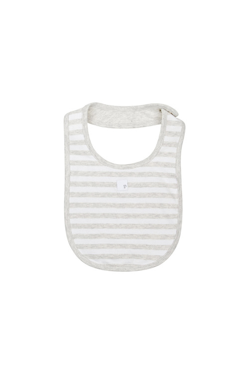 Pumpkin Patch Soft Stripe Bib
