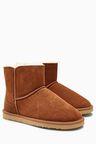 Next Suede Slipper Boots