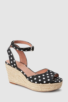 Next Espadrille Wedged Shoes