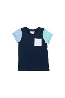 Pumpkin Patch Colour Block Tee