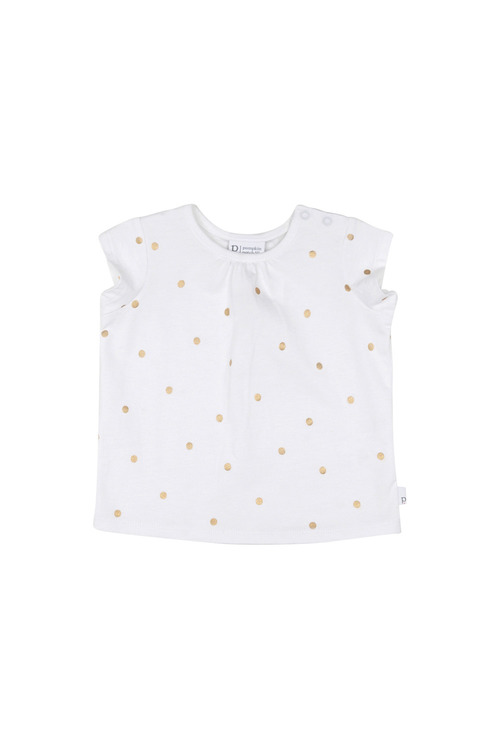 Pumpkin Patch Cap Sleeve Foil Spot Tee