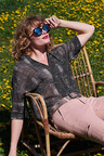 Heine Oversized Short Sleeve Blouse
