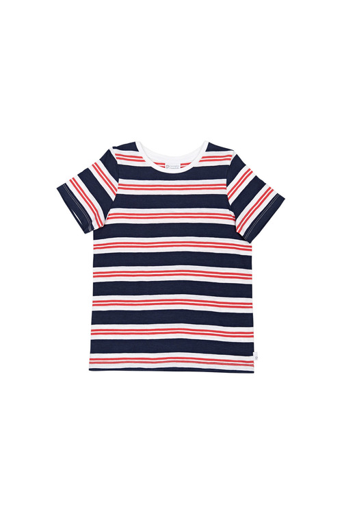 Pumpkin Patch Bold Stripe Tee