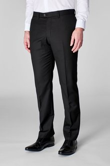 Next Wool Blend Textured Trousers - Slim Fit - 216034