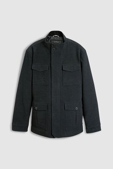 Next 4 Pocket Moleskin Coat - 216037