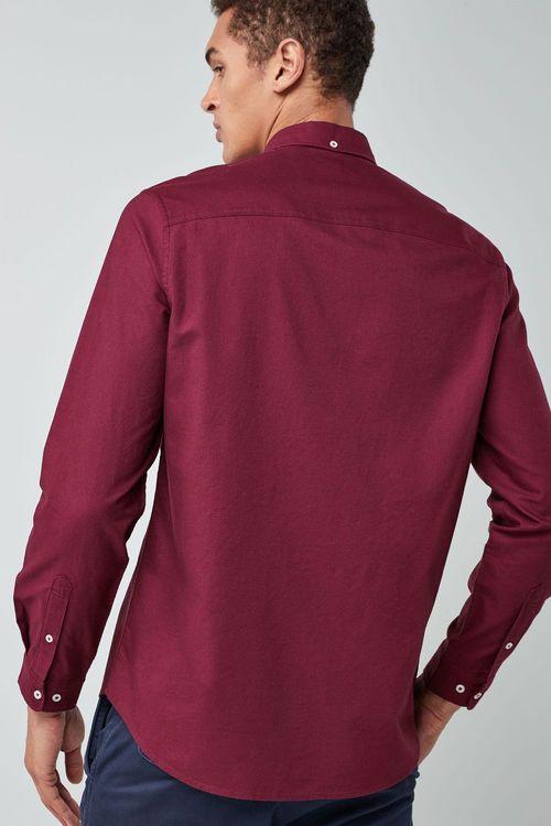 Next Long Sleeve Oxford Shirt Online