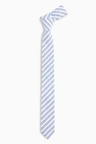 Next Chambray Stripe Tie (1-16yrs)