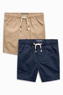 Next Pull-On Shorts 2 Pack (3mths-6yrs)