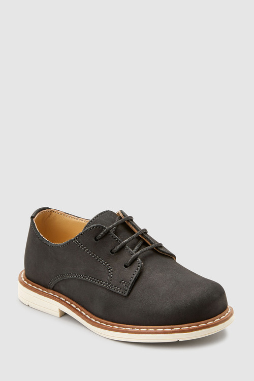 Next Italian Leather Derby Shoes (Younger)