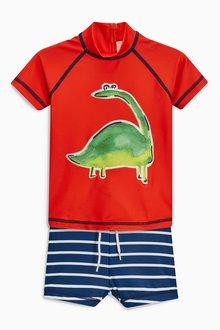 Next Dino Two Piece Swim Set (3mths-5yrs)