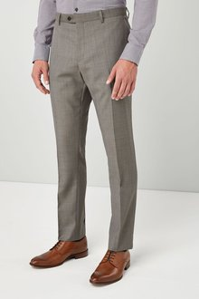 Next Slim Fit Wool Blend Suit: Trouser