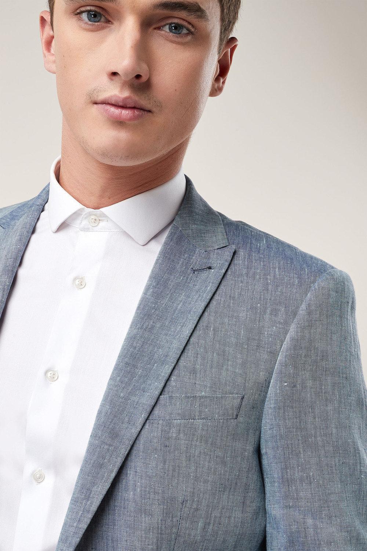 cbdaec78ec6a Next Signature Linen Suit: Jacket - Slim Fit Online | Shop EziBuy