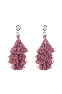 Amber Rose Shake It Up Tassel Earrings