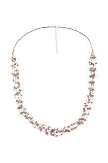 Amber Rose Aria Multi Strand Necklace