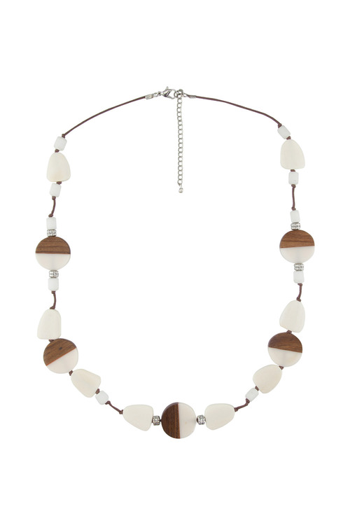 Amber Rose Multi Beaded Rope Necklace