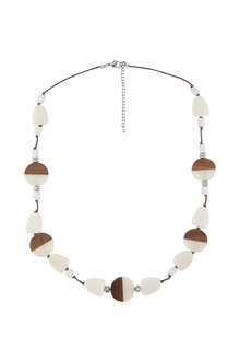 Amber Rose Multi Beaded Rope Necklace - 216226
