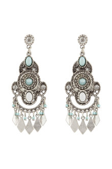 Amber Rose Halcyon Boho Earrings