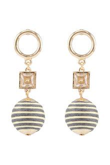 Amber Rose Halcyon Drop Earrings