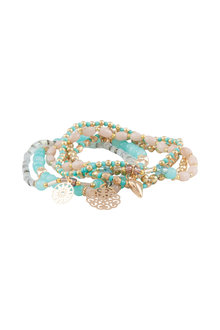Amber Rose Urban Stretch Bracelet Set
