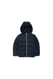 Pumpkin Patch Hooded Longline Puffa Jacket