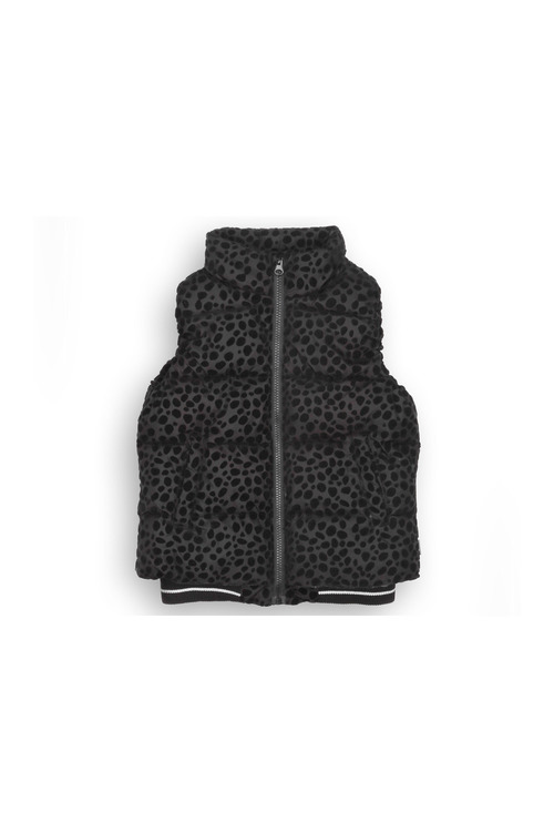 Pumpkin Patch Girls Ocelot Puffa Vest