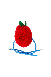 Pumpkin Patch Pom Pom Apple Hair Tie - 216306