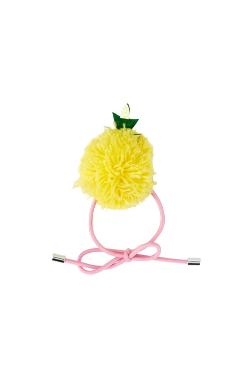 Pumpkin Patch Pom Pom Pineapple Hair Tie