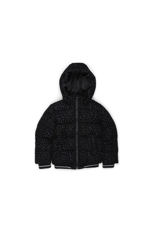 Pumpkin Patch Girls Hooded Ocelot Puffa Jacket