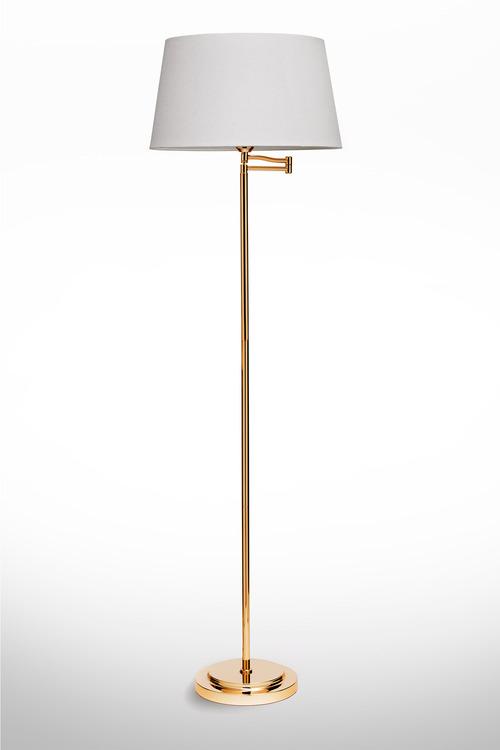 Metal Library Floor Lamp