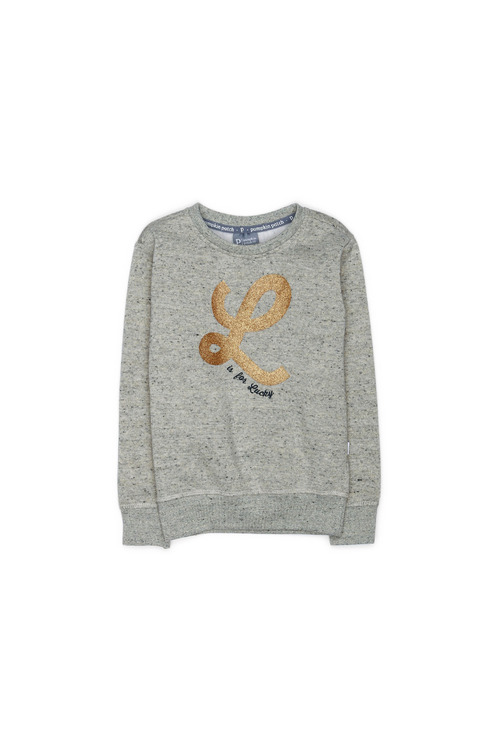 Pumpkin Patch Gold L Crew Sweater