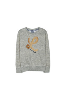 Pumpkin Patch Gold L Crew Sweat