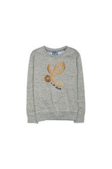 Pumpkin Patch Gold L Crew Sweater