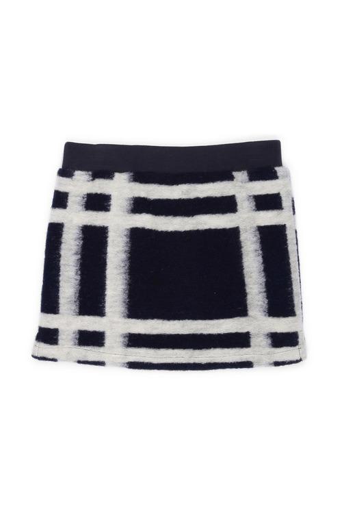 Pumpkin Patch Felt Wool Skirt