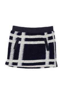 Pumpkin Patch Felt Wool Skirt - 216364