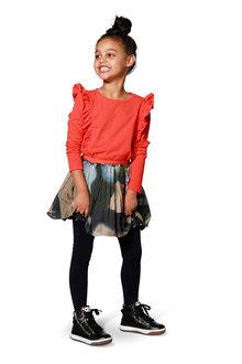 Reversible Poplin Skirt