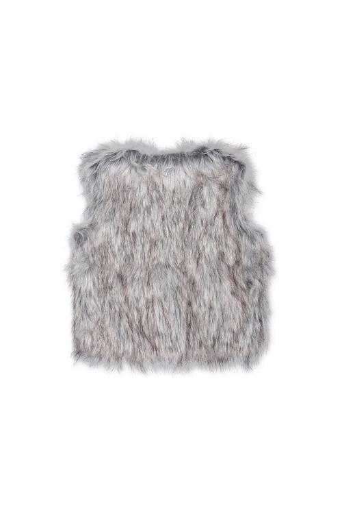 Pumpkin Patch Faux Fur Vest