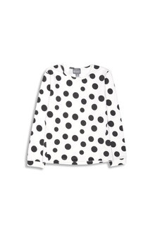 Pumpkin Patch Spot Long Sleeve Top