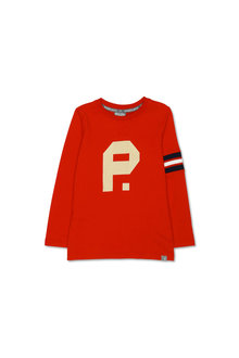 Pumpkin Patch Logo Cotton Jersey Long Sleeve Tee