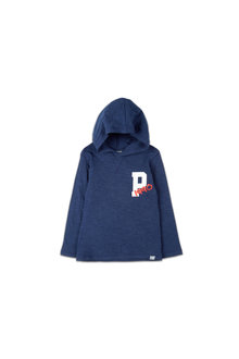 Pumpkin Patch Logo Hooded Tee