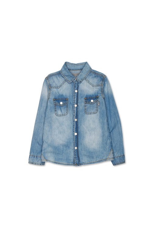 Pumpkin Patch Denim Shirt