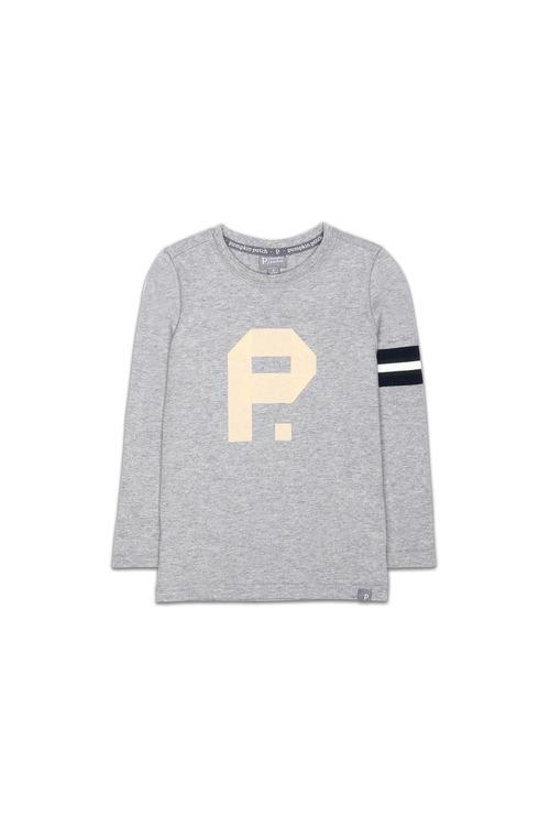 Pumpkin Patch Logo Cotton Jersey Long Sleeve Tee