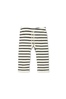 Pumpkin Patch Slub Stripe Harem Pant