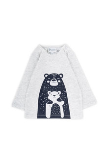 Pumpkin Patch Bear Long Sleeve Tee