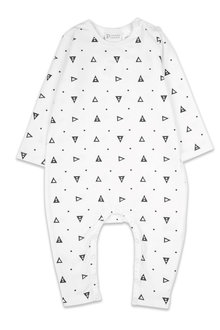 Pumpkin Patch Geo Triangle Long Sleeve Jumpsuit